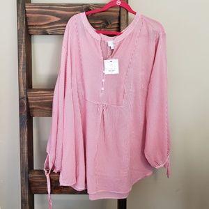 NWT liz Claiborne blouse